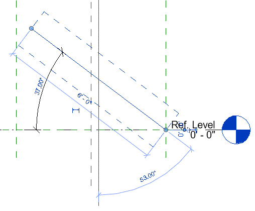 Revit-families-constrain-angles