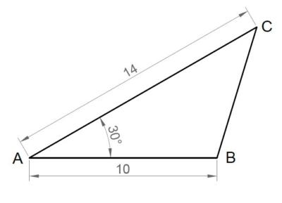triangulos autocad